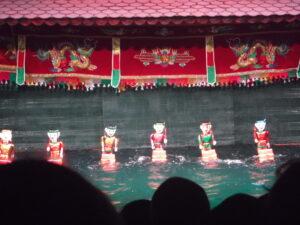 ハノイ水上人形劇